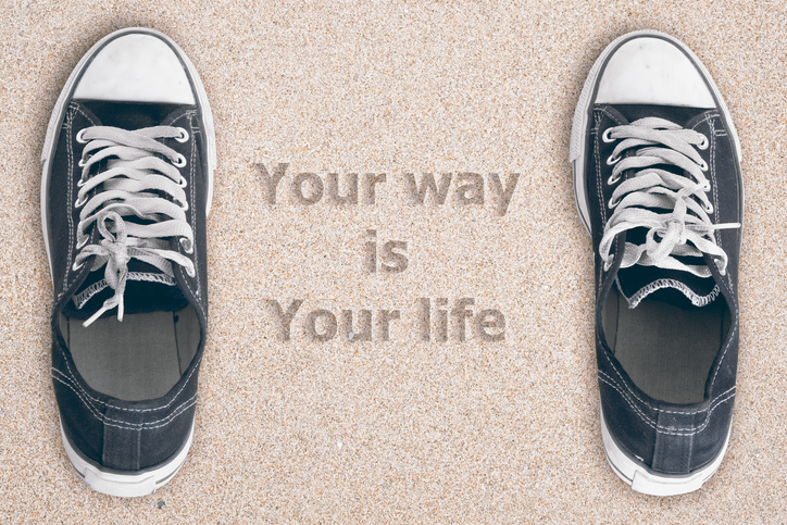 Your way is Your life.